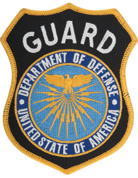 Department Of Defense Guard Full Color Shoulder Patch (P-DOD/G1) Sew on