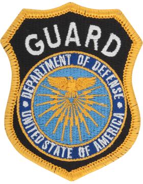 Department Of Defense Guard Full Color Hat Size Patch Sew on