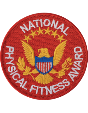 National Physical Fitness Award Patch