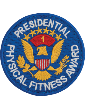 Presidential Physical Fitness Award Patch, 1st Award