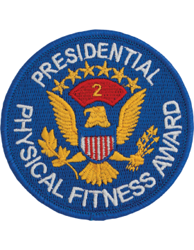 Presidential Physical Fitness Award Patch, 2nd Award