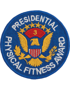 Presidential Physical Fitness Award Patch, 3rd Award