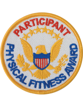 Presidential Physical Fitness Award Patch, Participant