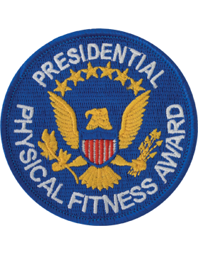 Presidential Physical Fitness Award Patch, Plain