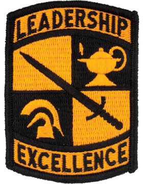 ROTC Cadet Command Leadership Excellence Full Color Patch