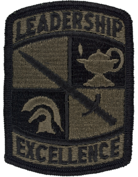 ROTC Cadet Command Leadership Excellence Subdued Patch