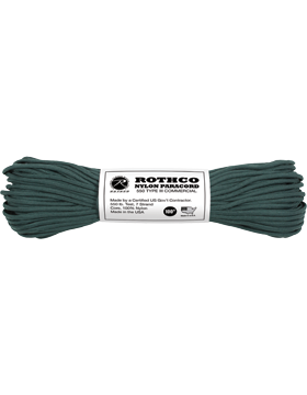 550LB Type III Nylon Paracord 100 Feet Hunter Green
