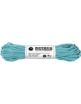 550LB Type III Nylon Paracord 100 Feet Tuquoise