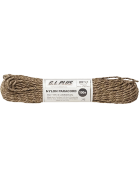550LB Type III Nylon Paracord 100 Feet Desert Camo small