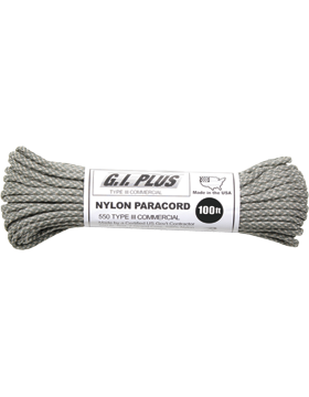 Nylon Paracord Type III 100 ft Army Digital 192