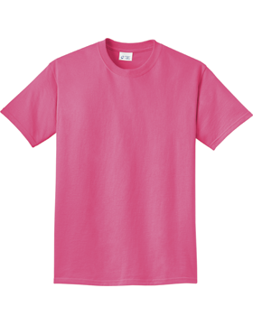 Port and Company Essential Pigment-Dyed Tee PC099 Neon Pink
