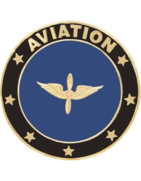 Framed Guidon Medallion (PD-D204) Aviation Enameled Patch Design
