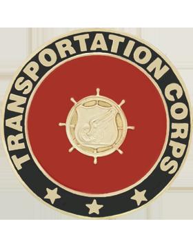 Framed Guidon Medallion (PD-D219) Transportation Enameled Patch Design