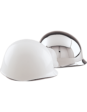 Helmet Metallized Chrome