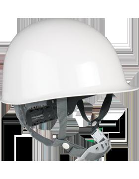 Helmet White Plastic