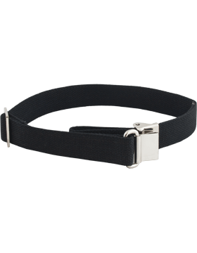 Rifle Sling (PE-C02N) Black Webbing 1.25in Nickel