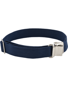 Rifle Sling (PE-C03N) Air Force Blue Webbing 1.25in Nickel