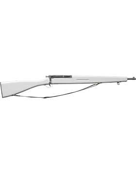 (PE-E01B) M-30 White Parade Rifle with Black Sling