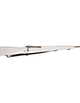 (PE-E01W) M-30 White Parade Rifle with White Sling