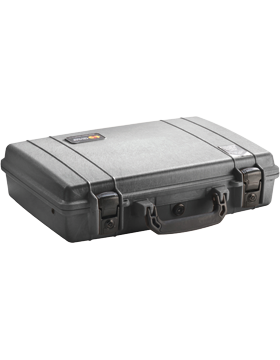 Briefcase with Foam Insert, Black