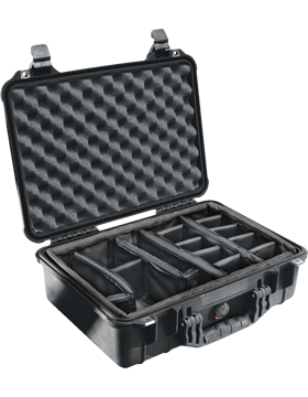 Medium Pelican Case PEL-1500EMS With Tray System