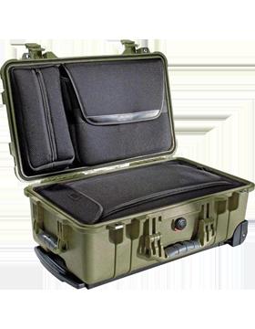 Medium Pelican Case PEL-1510LFC With Lid Orgnizer