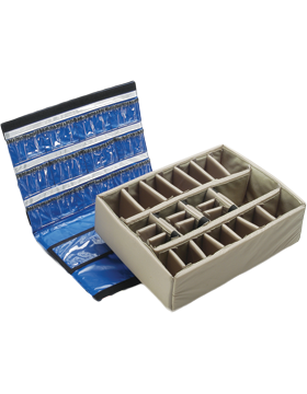 Lid Organizer and Divider Set for PEL-1550EMS