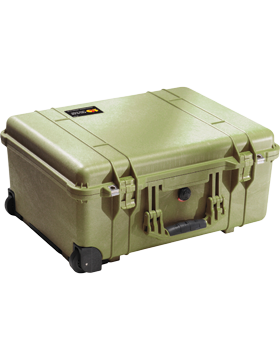 Large Pelican Carry on Case PEL-1560 With Foam