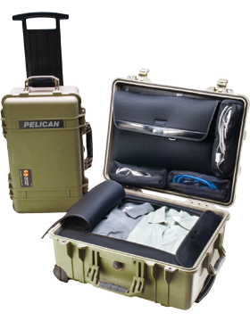 Large Pelican Case PEL-1560LFC With Lid Orgnizer