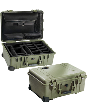 Large Pelican Case PEL-1560SC With Padded Dividers small