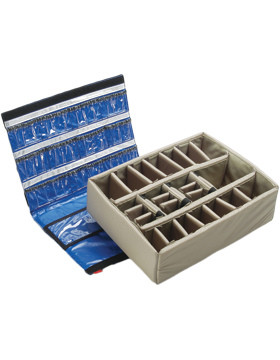 Lid Organizer and Divider Set for PEL-1600EMS