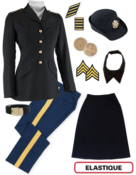 Female Dress Blue Package Elite NCO CPL-CSM with Cap