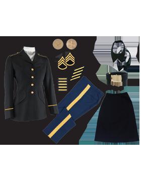 Female Dress Blue Package Premier NCO CPL-CSM without Cap