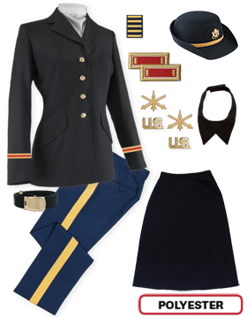 Female Dress Blue Package Colonial Officer with Cap (Company Grade)