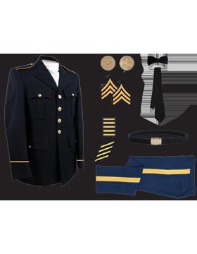Male Dress Blue Package Premier NCO CPL-CSM without Cap