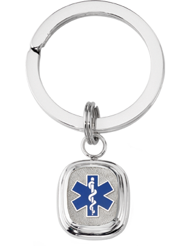 EMT Key Ring Style 14 Sterling Silver