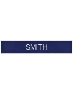 Air Force Smooth Plastic Name Tag
