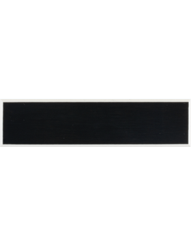 PLA-109 Navy Smooth Finish Plastic Name Tag