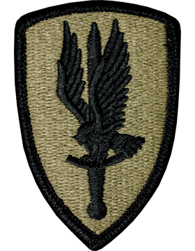 0001 Aviation Brigade Scorpion Patch with Fastener (PMV-0001E)