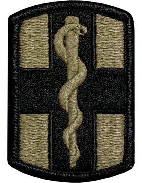 1st Medical Brigade Scorpion Patch with Fastener