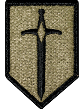 1st Maneuver Enhancement Brigade Scorpion Patch with Fastener
