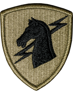 1st Special Operations Command Scorpion Patch with Fastener