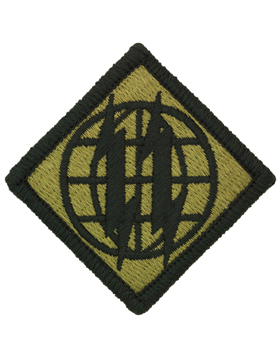 0002 Signal Brigade Scorpion Patch with Fastener (PMV-0002G)