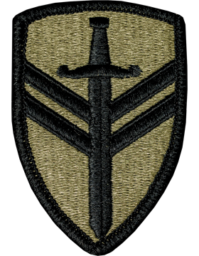 2nd Support Brigade Scorpion Patch with Fastener