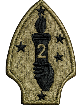 0002 Marine Divison Scorpion Patch with Fastener (PMV-0002U)