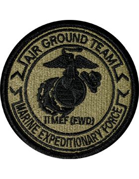 2nd Marine Expeditionary Force Scorpion Patch with Fastener