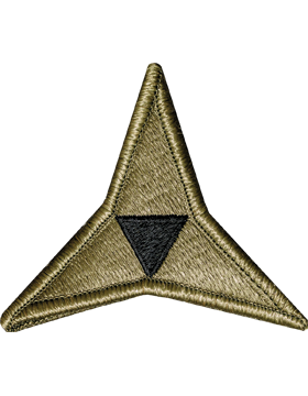 III (3rd) Corps Scorpion Patch with Fastener