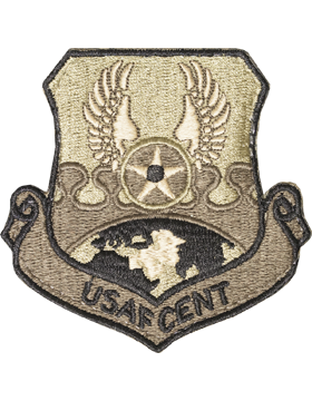 Air Force Central (AFCENT) Scorpion Patch with Fastener (Type 1)