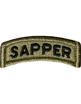 Sapper Tab with Fastener