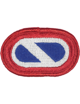 1st Corps Support Command Oval